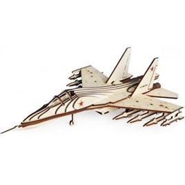 Lemmo Конструктор 3D деревянный Lemmo Российский Истребитель СУ-30
