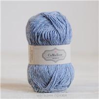 Пряжа Lamauld Голубой 6838, 100м/50г, CaMaRose, Blagra