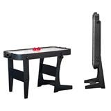 Weekend Аэрохоккей «Jersey» 4 ф (122 х 60 х 76,5 см, черный, складной), интернет-магазин товаров для бильярда Play-billiard.ru