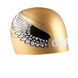 Шапочка для плавания Poolish Moulded gold/wings, силикон, 1E774 30