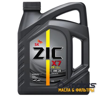 ZIC X7 FE 0W-20 (4л.)