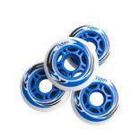 Комплект колес для роликов SW-601, PU, синий