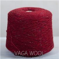 Пряжа Твид-мохер Королевский красный 2719, 200м/50гр. Knoll Yarns, Mohair Tweed, Tudor