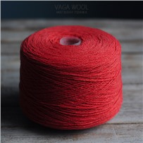 Пряжа Lambswool Папая 166, 212м/50г., Knoll Yarns, Papaya
