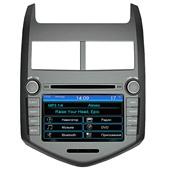 Штатное головное устройство Intro CHR-3117AV для CHEVROLET Aveo с 2012 года (IE)