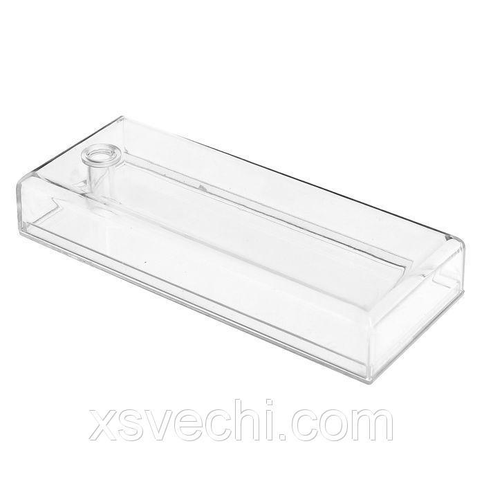 Ёмкость для хранения мелочей 13*5.3, оргстекло, цвет прозрачный