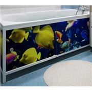 Экран (зашивка) под ванну 1,5 м Подводный мир