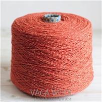 Пряжа City, 017 Календула, 144м/50г, шерсть ягнёнка, шёлк, Vaga Wool