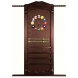 Киевница навесная с полкой для шаров (черная, 137 х 99 х 8 см), интернет-магазин товаров для бильярда Play-billiard.ru