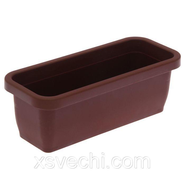 Ящик для рассады, 36 х 15 х 12,5 см, без поддона, цвет МИКС