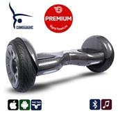 Гироскутер Smart Balance PRO Premium 10.5 V2 карбон (самобаланс + приложение + Bluetooth-музыка + сумка)