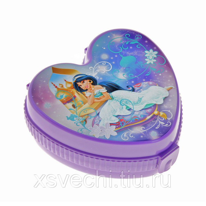 """Шкатулка детская """"Жасмин"""", цвет фиолетовый"""