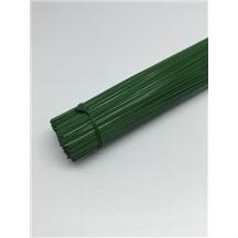 Герберная проволока 0,7мм 40см цвет: зеленый (1кг)