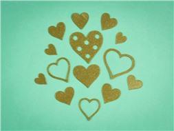 Набор сердечек