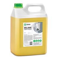 """Жидкое крем-мыло """"Milana"""" молоко и мед, 5 л."""