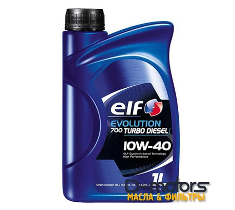 ELF EVOLUTION 700 TURBO DIESEL 10W40 (1л.)