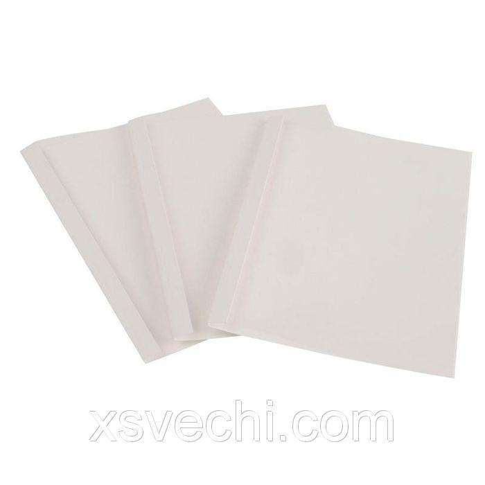Обложка для термопереплета ProMega Office белые, карт./пласт., 40мм, 40шт/у