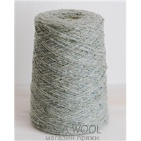 Пряжа Твид Soft Donegal Серебряная мята 5504, 190м в 50 г.  Knoll Yarns, Annalee