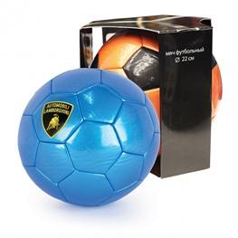 """Мяч футбольный, """"LAMBORGHINI"""" в коробке, синий"""