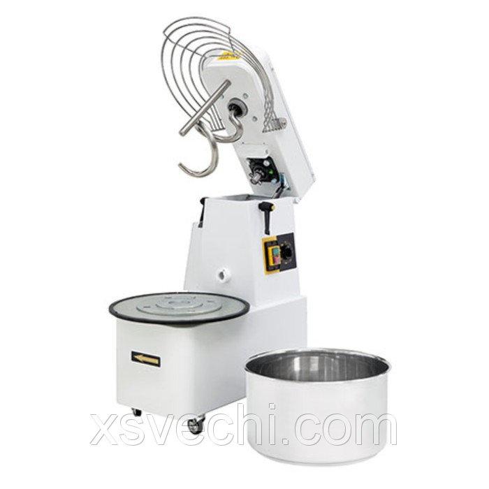 Тестомес Gemlux GHSR 20B, до 56 кг/ч, объем дежи 22 л, таймер