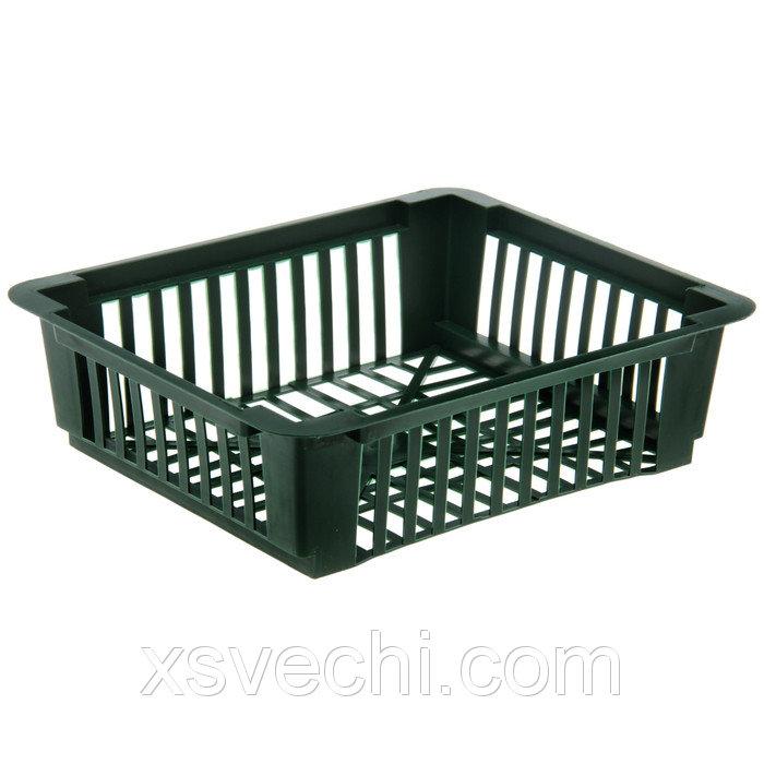 Корзина для луковичных, квадратная, 24.5 х 20.5 х 7 см