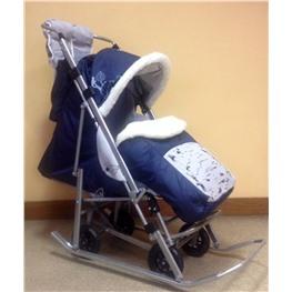 Детские санки-коляска Rich Toys Sofi Luxyry (ЭМИ - 3)
