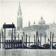 Штора для ванной Дождливая Венеция