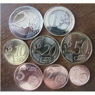 EU Эстония набор евро монет 2011 (из ролла)
