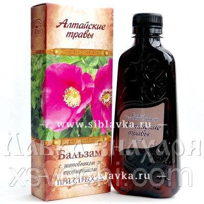 Бальзам «Алтайские травы» №1 при стрессах