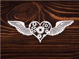 Сердце с крыльями