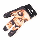 """Перчатка бильярдная """"Longoni Fancy Skull 3"""", интернет-магазин товаров для бильярда Play-billiard.ru"""