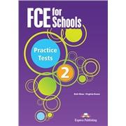FCE for Schools Practice Tests 2. Class CD's REVISED (set of 4). Аудио CD для работы в классе