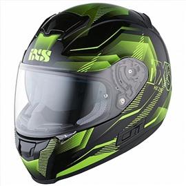 Шлем интеграл HX 215 Cristal черно-зеленый S