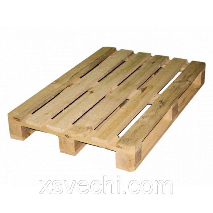 """Деревянный поддон """"Типовой"""", паллет, 800х1200 мм, 1 сорт, до 1.5 тонн, в наборе 5 шт."""
