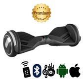 Гироскутер Hoverbot A6 Premium черный (приложение + Bluetooth-музыка + 3 режима работы + пульт + сумка)