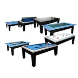 Игровой стол - многофункциональный «Dybior Mistral» (черный), интернет-магазин товаров для бильярда Play-billiard.ru