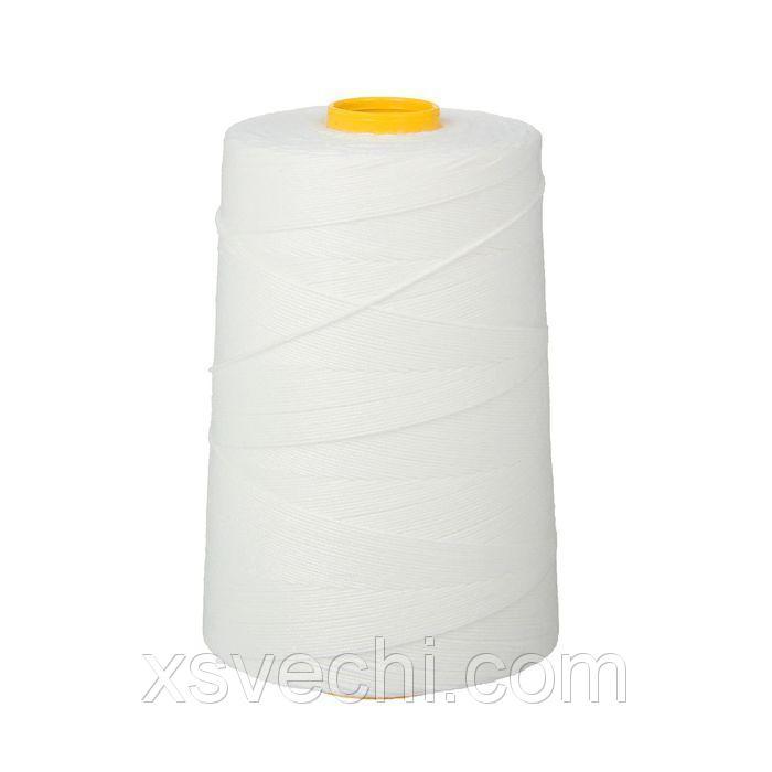 Нить лавсановая для прошивки документов, диаметр 1мм, длина 1000 м