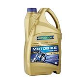 Моторное масло RAVENOL - Motobike 4-T Ester SAE 10W-60,  (4л.)