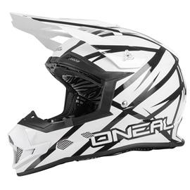 Шлем кроссовый 2Series THUNDERSTRUCK черно-белый XL