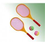 Набор Бадминтон детский (2 ракетки + 2 мяча) ES-0051