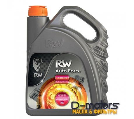 Моторное мало Rw Auto Force X 5w-40 (4л.)