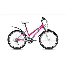 Велосипед Forward Seido 1.0 24 (2017) Белый Розовый, интернет-магазин Sportcoast.ru