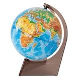 Глобус физический Глобусный Мир d210 мм рельефный 10275