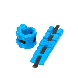 Aqua fitness cuffs, pair