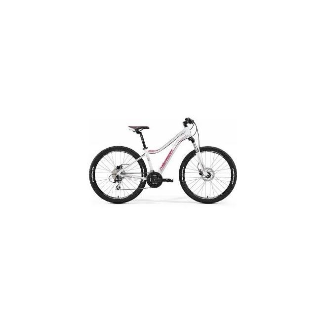 Велосипед Merida Juliet 6.20D Matt White/Pink (2017) , интернет-магазин Sportcoast.ru