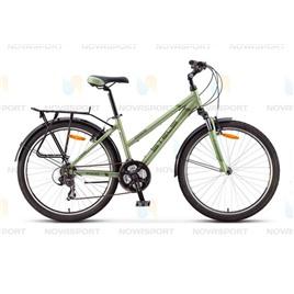Велосипед Stels Miss 7000 V 26 (2016) Зеленый/Тёмно-зеленый , интернет-магазин Sportcoast.ru