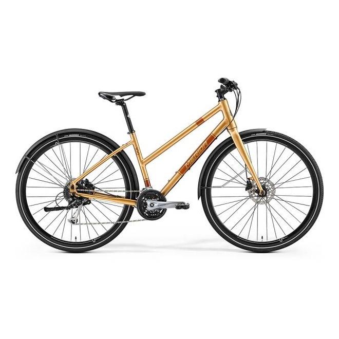 Велосипед Merida Crossway Urban 100 Lady CafeLatte/Kakao (2017), интернет-магазин Sportcoast.ru