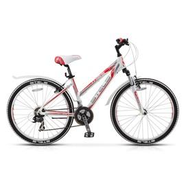 Велосипед Stels Miss 6100 V 26 (2016) Белый/Серый/Красный , интернет-магазин Sportcoast.ru