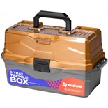 Ящик для снастей Nisus Tackle Box трехполочный золотой N-TB-3-GO