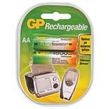 Батарейки аккумуляторные GP (АА) Ni-Mh 1800 mAh 2 шт 180AAHC-2DECRC2 (454107)